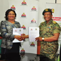 Postbank Partners with National Youth Service
