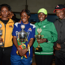 Postbank bags Athletics and Volley Ball trophies during the 2017 Interbank edition