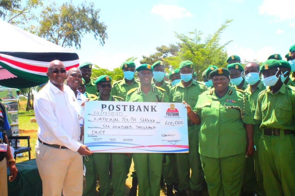 POSTBANK DONATION TO NYS